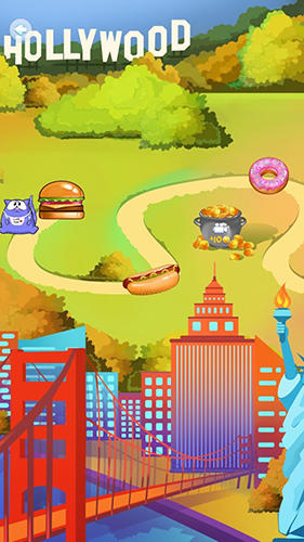 Simulation Feed the cat game für das Smartphone