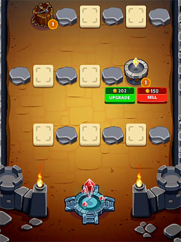 Spell heroes: Tower defense em portugues