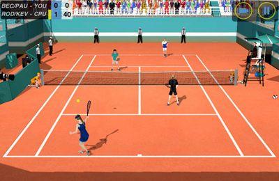 Tennis: Collage Krieg für iPhone