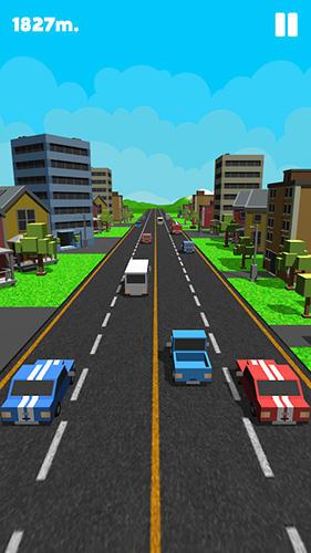 Arcade Double traffic race für das Smartphone
