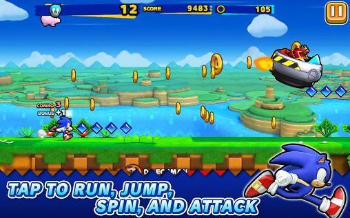 Arcade Sonic: Runners für das Smartphone