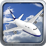 3D Airplane flight simulator Symbol