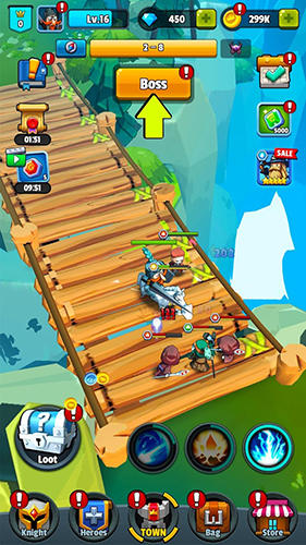 Brave hero for Android