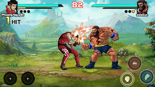 Mortal battle: Street fighter截图