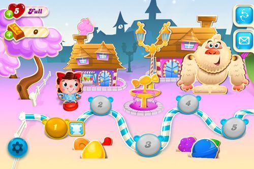 d'arcade: téléchargez Destruction des bonbons: Saga de soude sur votre téléphone