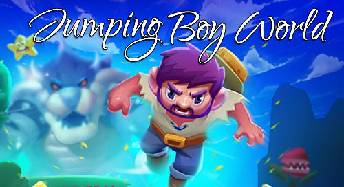 Jumping boy world Symbol