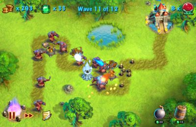 Towers N' Trolls for iPhone for free