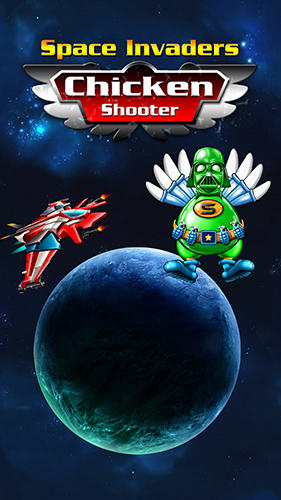 Space invaders: Chicken shooter Symbol