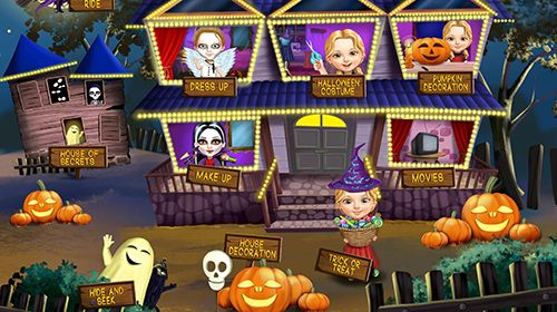 Sweet baby girl: Halloween fun для Айфону