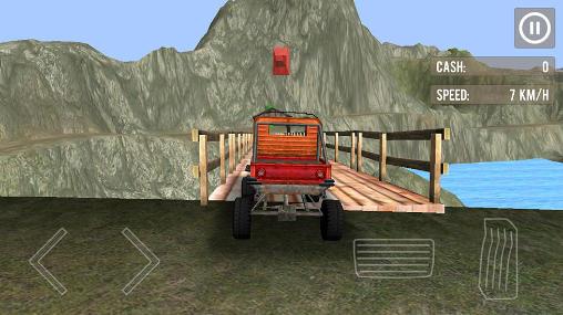 Off-Road Rennen Monster truck driver 3D auf Deutsch