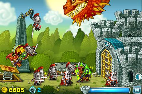 Ritter im Angriff für iPhone