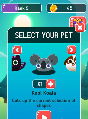 Logic games Pet picnic for smartphone