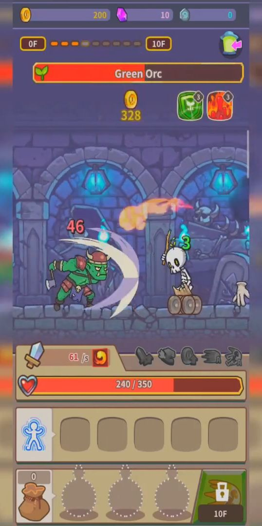 Hybrid Warrior : Dungeon of the Overlord screenshot 1