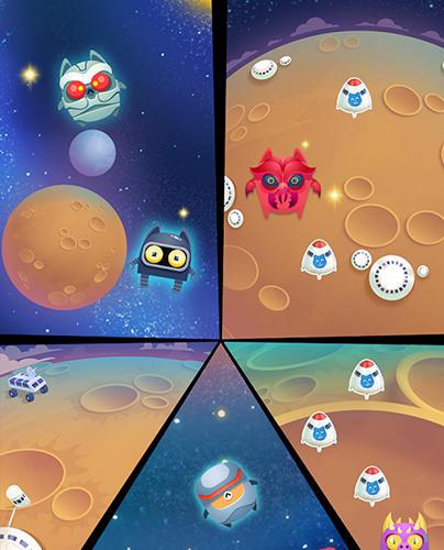 Space cat evolution: Kitty collecting in galaxy auf Deutsch