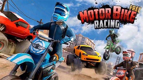 Скриншот Free motor bike racing: Fast offroad driving game на андроид