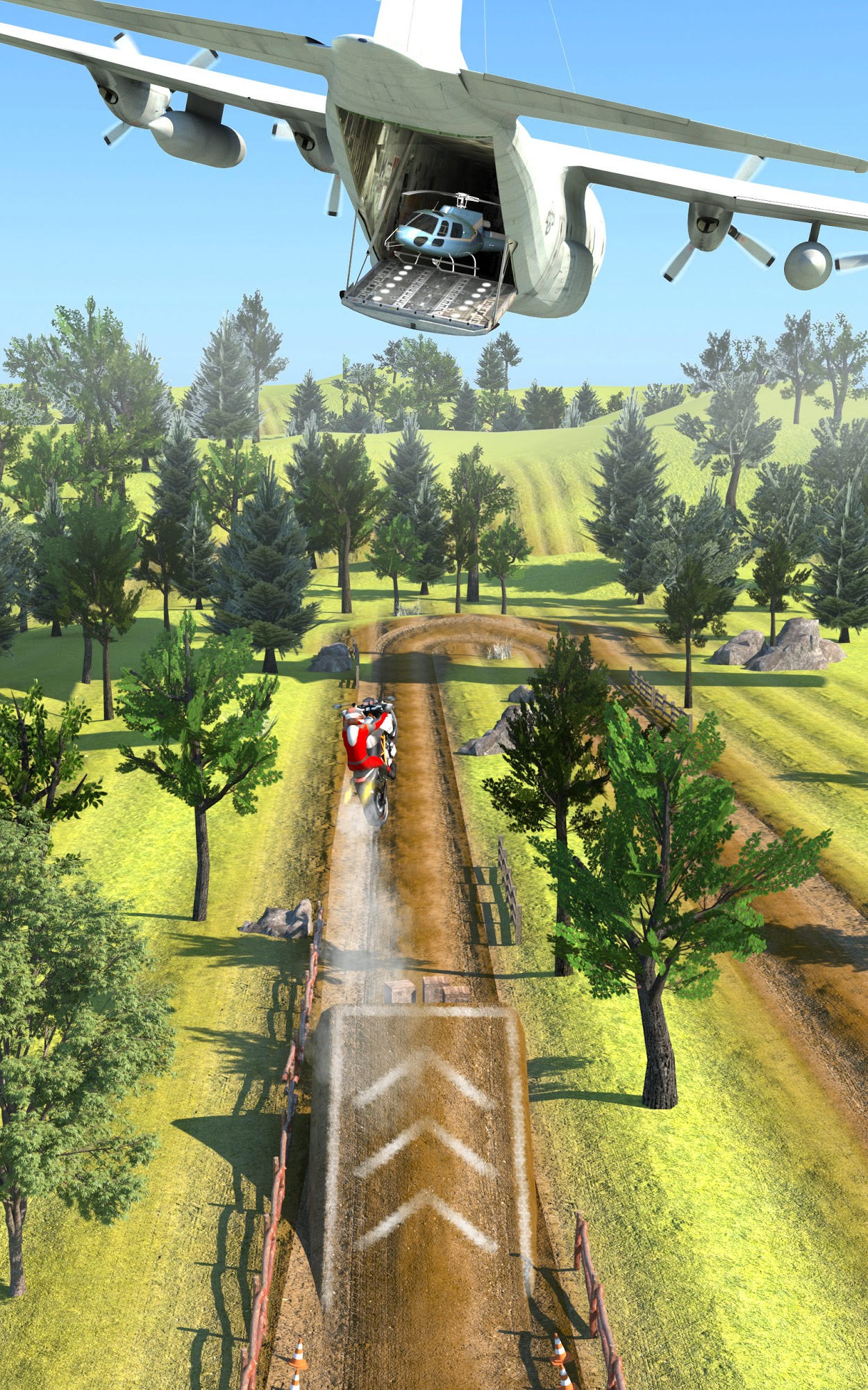 Slingshot Stunt Biker für Android