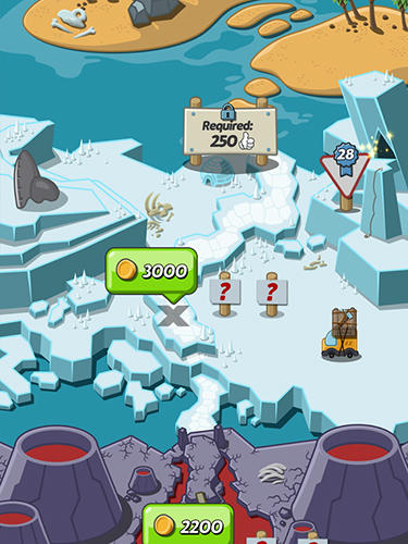 Crazy dino park screenshot 1