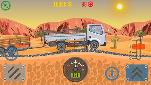 Arcade-Spiele Best trucker für das Smartphone