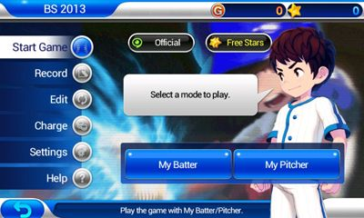 Baseball Superstars 2013 captura de pantalla 3