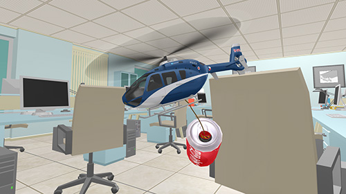 Helicopter RC flying simulator für Android