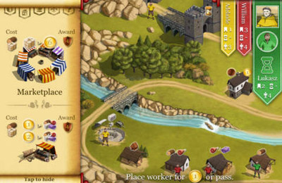 Screenshot Caylus auf dem iPhone