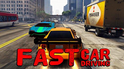 Fast car driving Screenshot