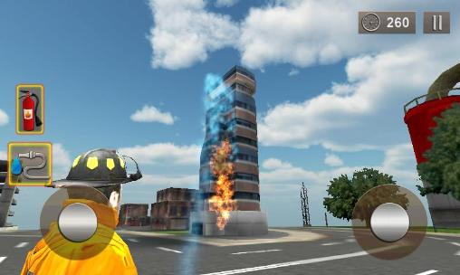 Firefighter 3D: The city hero screenshot 1