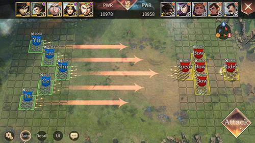 Online Three kingdoms: Epic war für das Smartphone