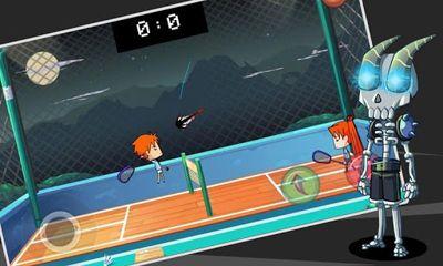 Sportspiele Badminton für das Smartphone