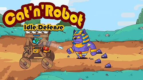 Cat'n'robot: Idle defense captura de tela 1