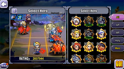 Guardians clash: An epic mobile fantasy RPG for Android