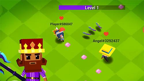 Arcade-Spiele Throw io: Online axes, knives and shurikens battles für das Smartphone