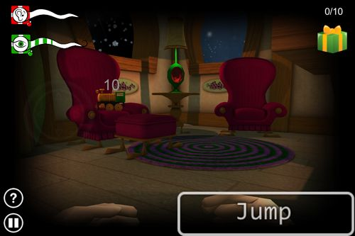 Screenshot Santa's sleeping on iPhone