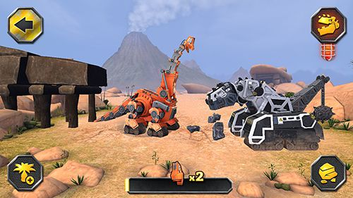 Dinotrux: Gérez une construction féroce pour iPhone gratuitement