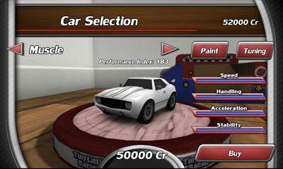 Rennspiele Tiny Little Racing 2 für das Smartphone