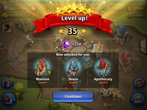 Screenshot Könige der Schatten auf dem iPhone
