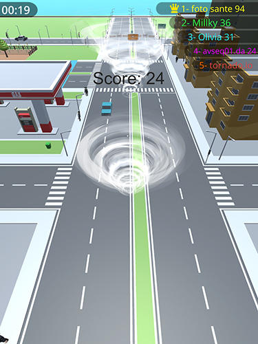 Storm.io: Tornado fight für Android