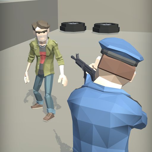 Agent Shot 3D - Cop shooting and chasing game ícone