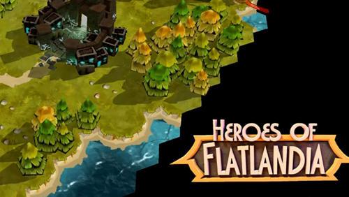 Heroes of Flatlandia capture d'écran