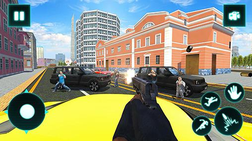 Action games Crime city gangster for smartphone