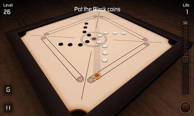 Multiplayer games Carrom 3D for smartphone