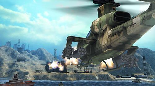 Gunship battle 2 VR captura de tela 1