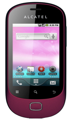 Alcatel OneTouch 908 apps