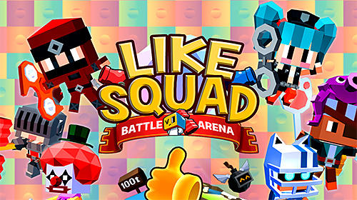 Like squad: Battle arena captura de pantalla 1