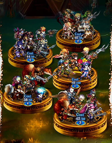 Brave frontier: The last summoner for Android