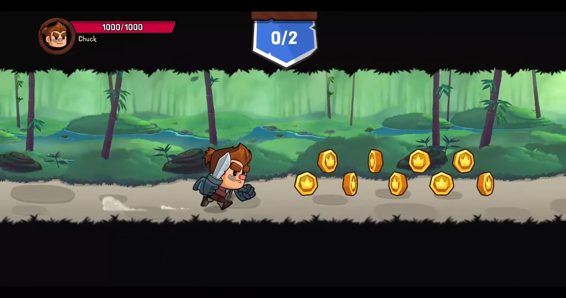 Fight Out! - Free To Play Runner & Fighter pour Android