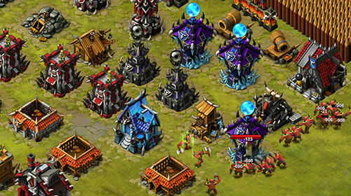 Online-Strategiespiele Lands of war auf Deutsch
