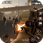 Иконка Dead zombie frontier war survival 3D
