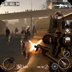 Dead zombie frontier war survival 3D ícone