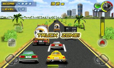 Screenshot Whacksy Taxi auf dem iPhone